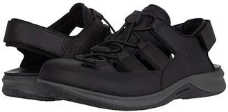 Merrell Tideriser Luna Fisherman Leather (Black) Men's Shoes