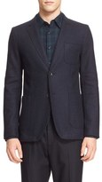 Rag & Bone Men's Woodall Trim Fit Wool Blend Blazer