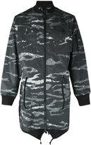 MHI camouflage fishtail parka - men - Nylon/Polyamide - M