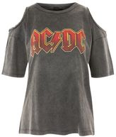 And finally 'acdc' chain trim t-shirt