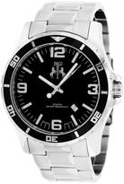Jivago Mens Silver Tone Bracelet Watch-Jv6117