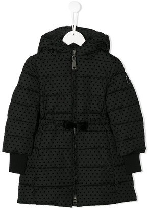 MonnaLisa Padded Spotted Coat