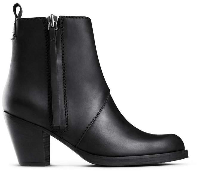 Acne Studios Pistol Boot Black