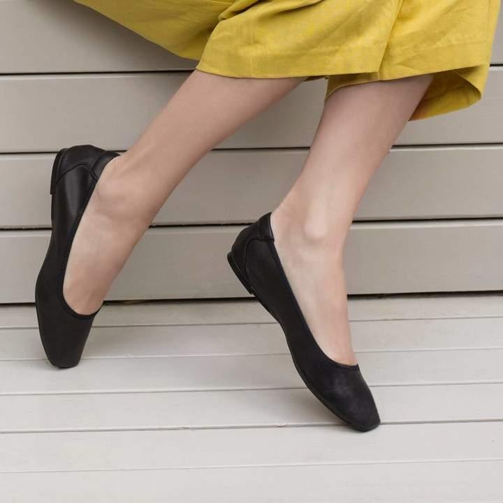 ca21dc6c8f6d Soft Leather Ballerina Pumps - ShopStyle UK