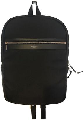 Saint Laurent LapTop City Black Cotton Bags