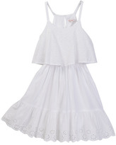 Ella Moss Tiana Allover Eyelet Dress (Big Girls)