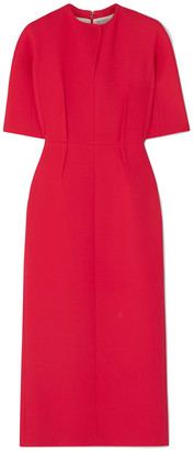 Emilia Wickstead Trista Wool-crepe Midi Dress