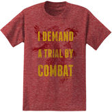 Novelty T-Shirts Game Of Thrones Trial Short-Sleeve Cotton Tee