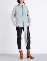 Chloé Pussybow silk blouse