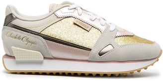 Puma x Charlotte Olympia Mile Rider trainers
