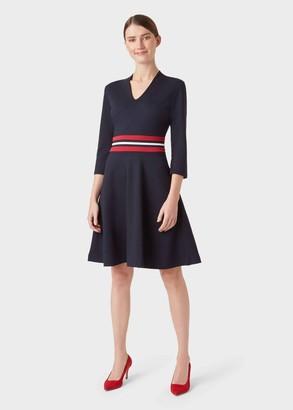 Hobbs V Neck Seasalter Dress
