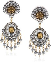 Miguel Ases Pyrite Small Touch of Sparkle Drop Earrings