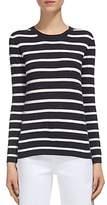 Whistles Annie Striped Sparkle Sweater