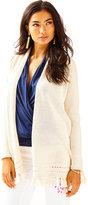 Lilly Pulitzer Martinique Long Fringe Hem Sweater