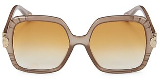 Chloé Vera 55MM Oversize Square Sunglasses