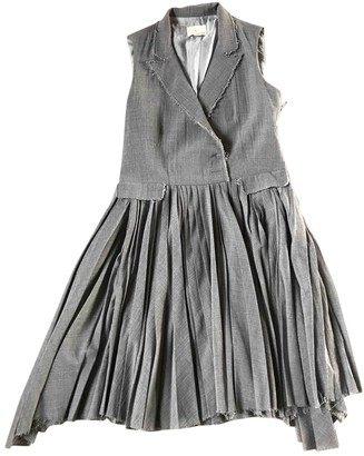 Band Of Outsiders Grey Wool Dress for Women