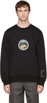 Lanvin Black paradise Patch Sweatshirt