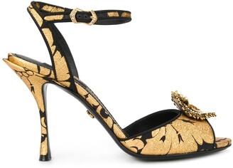 Dolce & Gabbana baroque 95 sandals