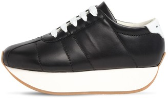 Marni 40mm Big Foot Leather Sneakers