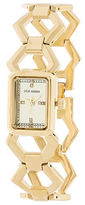 Steve Madden Rectangular Case Bracelet Watch