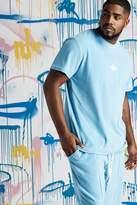 BoohooMAN Big & Tall Quavo Velour T-Shirt