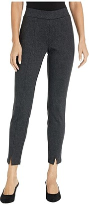 NYDJ Basic Leggings with Front Slit in Herringbone Heights (Herringbone Heights) Women's Jeans
