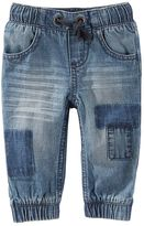Osh Kosh Baby Boy Distressed Pull-On Jeans