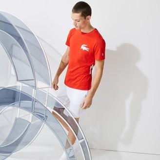 Lacoste Men's SPORT x Novak Djokovic Breathable Jersey T-shirt