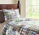 Pottery Barn Kids Madras Duvet Cover
