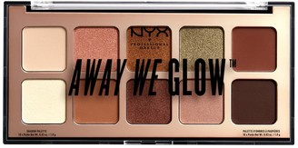 NYX Away We Glow Shadow Palette - Hooked On Glow
