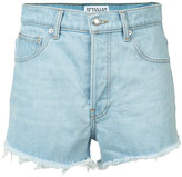Derek Lam 10 Crosby raw hem denim shorts - women - Cotton - 24