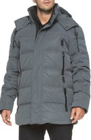 Andrew Marc Men's 'Polar' Water Resistant Embossed Down Parka