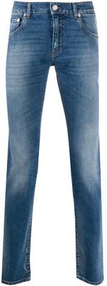 Dolce & Gabbana Printed Pocket Straight-Leg Jeans
