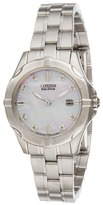 Citizen EW1930-50D Ladies' Diamonds Analog Watches