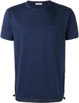 Moncler drawstring hem T-shirt - men - Cotton/Polyamide - L