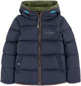 Scotch & Soda Padded coat with two hoods