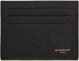 Givenchy Black Logo Card Holder