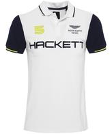 Hackett Slim Fit Aston Martin Racing Wings Polo Shirt