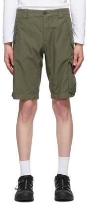 C.P. Company Khaki Ripstop Lens Shorts