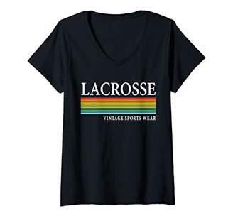 LaCrosse Womens Merchandise & Gear V-Neck T-Shirt
