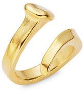 Uno de 50 Goldtone Wrap Ring