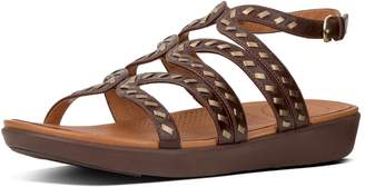 FitFlop Strata Whipstitch Leather Gladiator Sandals