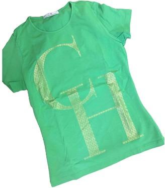Carolina Herrera Green Cotton Top for Women