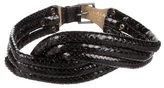 Alaia Snakeskin Waist Belt