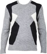 Neil Barrett Grey Sweater