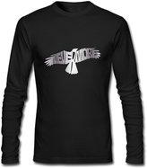 MVWAPOD Men Nevermore Raven Edgar Allan Platinum Style T-shirts