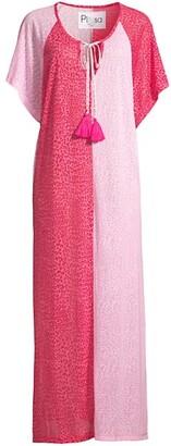 Pitusa Two-Tone Maxi Dress