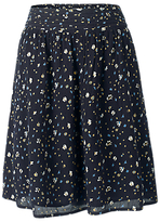 Fat Face India Scattered Geo Skirt, Black/Multi