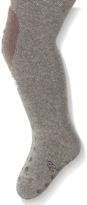Sterntaler Tights for Babies and Toddlers Slipper Sole Age: 1-2 years Size: 86 Silver/Grey