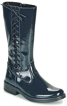 Citrouille et Compagnie LOUVETTE girls's High Boots in Blue